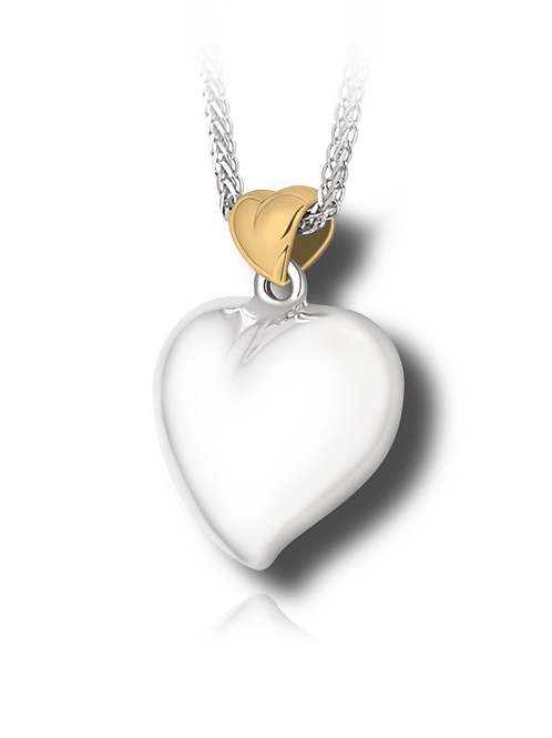 2 Tone Offset Heart (wholesale)