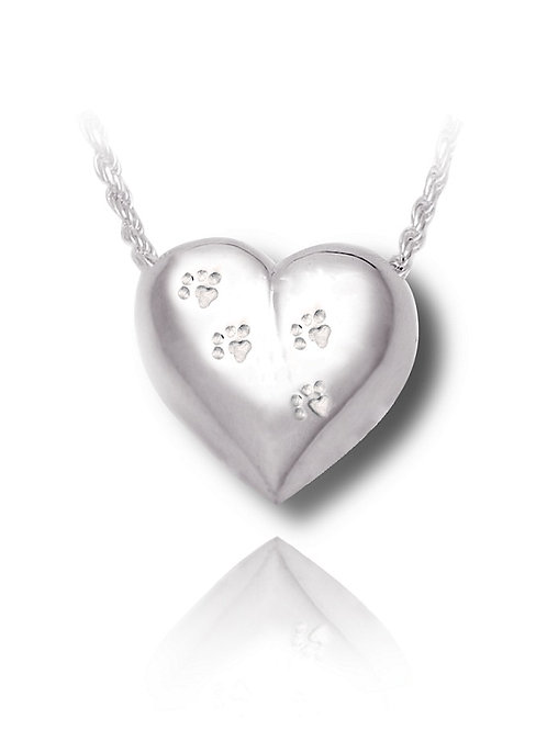 Heart Slider with Paw Prints (wholesale)