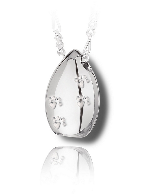 Teardrop with Paw Prints (wholesale)