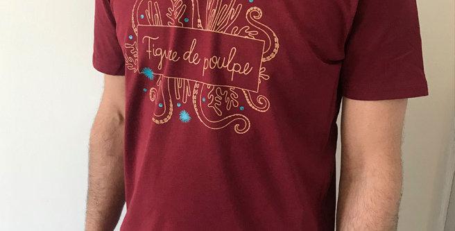 T-shirts FIGURE DE POULPE - 4 modèles