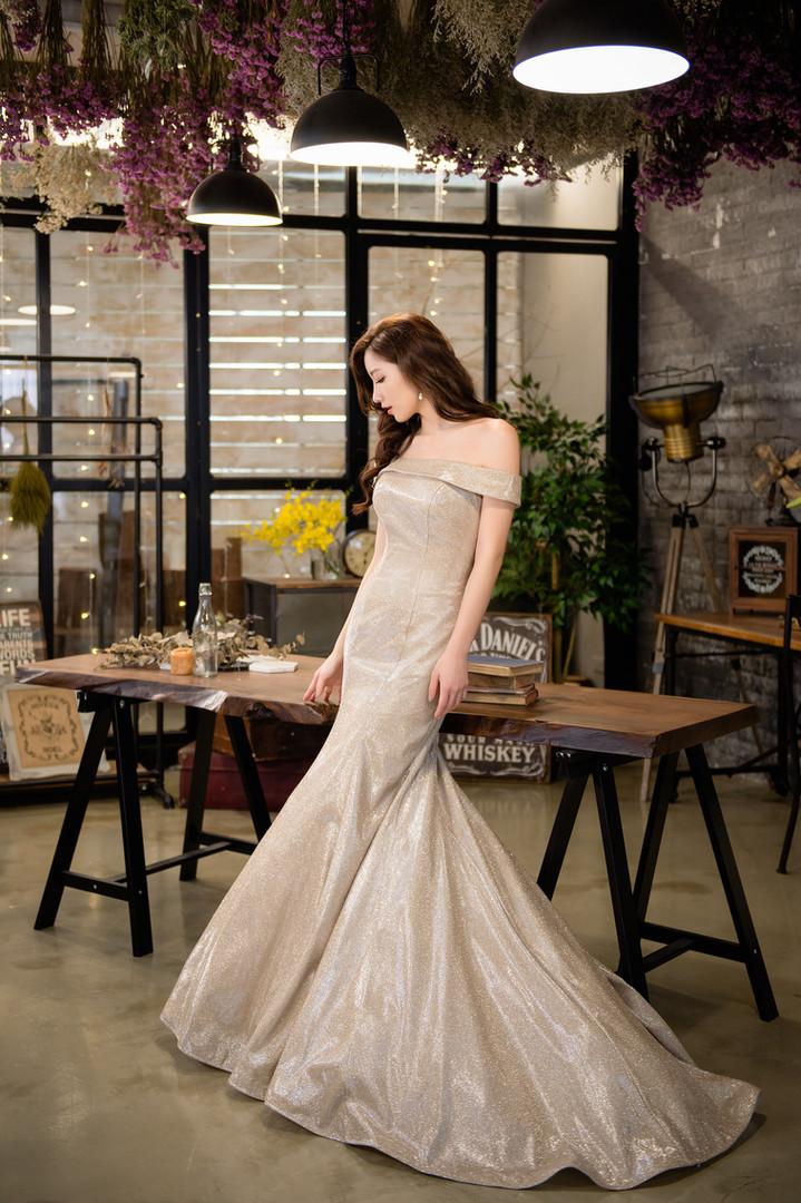 Diosa Wedding Dress /台北攝影棚