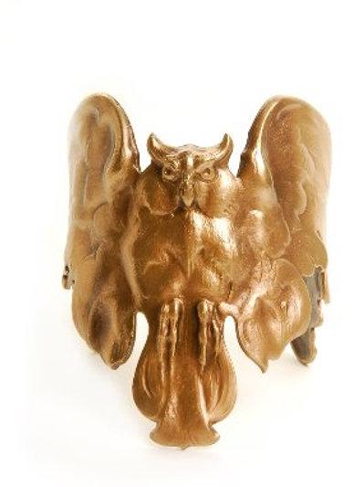 Manchette Eagle owl bronze