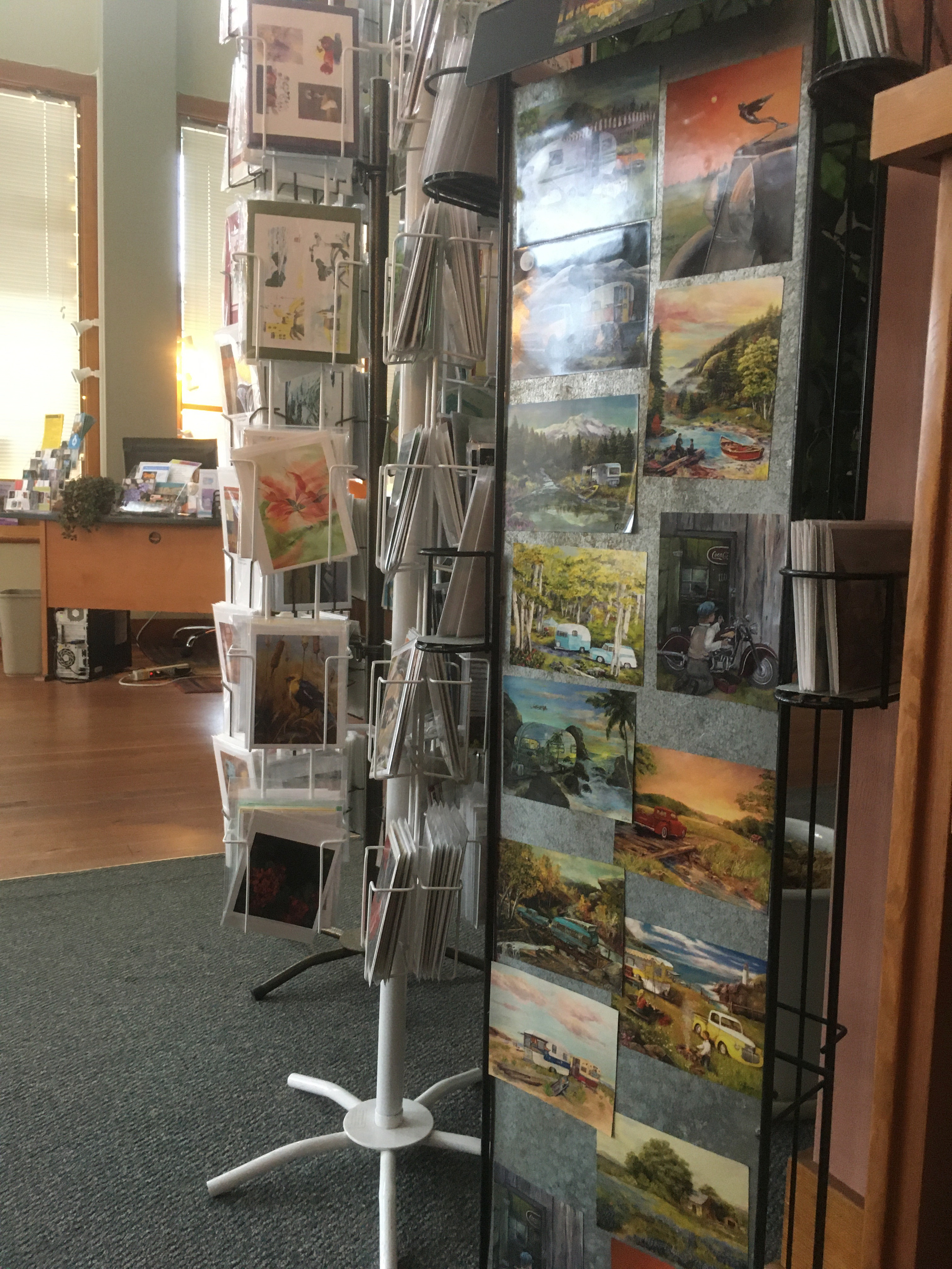 Postcards and magnets