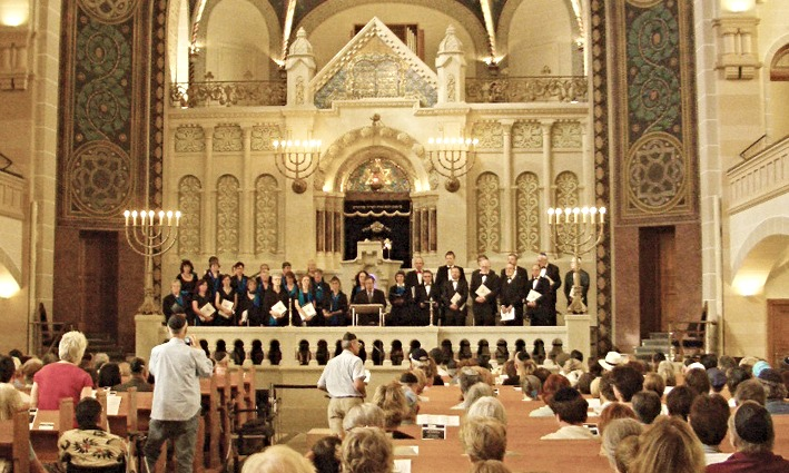 Konzert Synagoge Rykestr. 06/2008