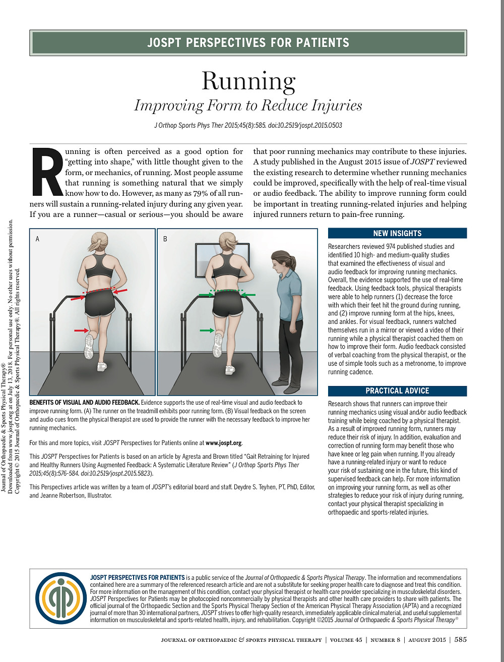 running mechanics, running improvement