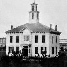 2nd Hamilton County Courthouse Aurora 1877