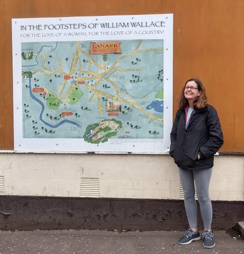 Lanark - Footsteps of Wm Wallace wRobin.