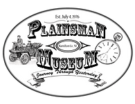 Plainsman Museum Logo Black and White 02