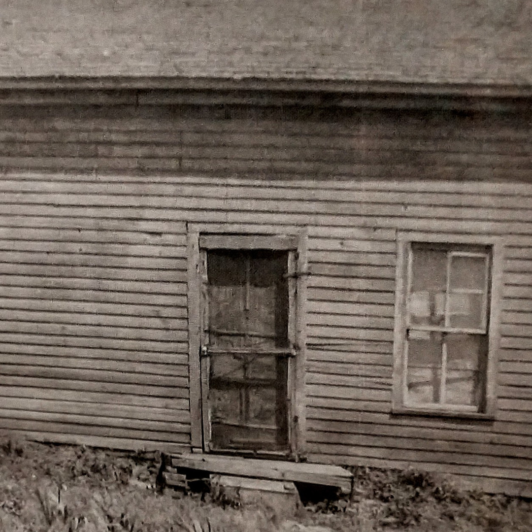 1st Hamilton Cty Courthouse in Orville - 1870