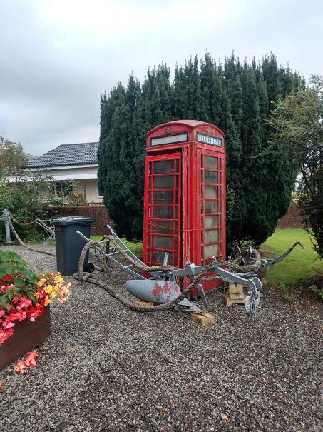 NS Museum yard - Telephone Box