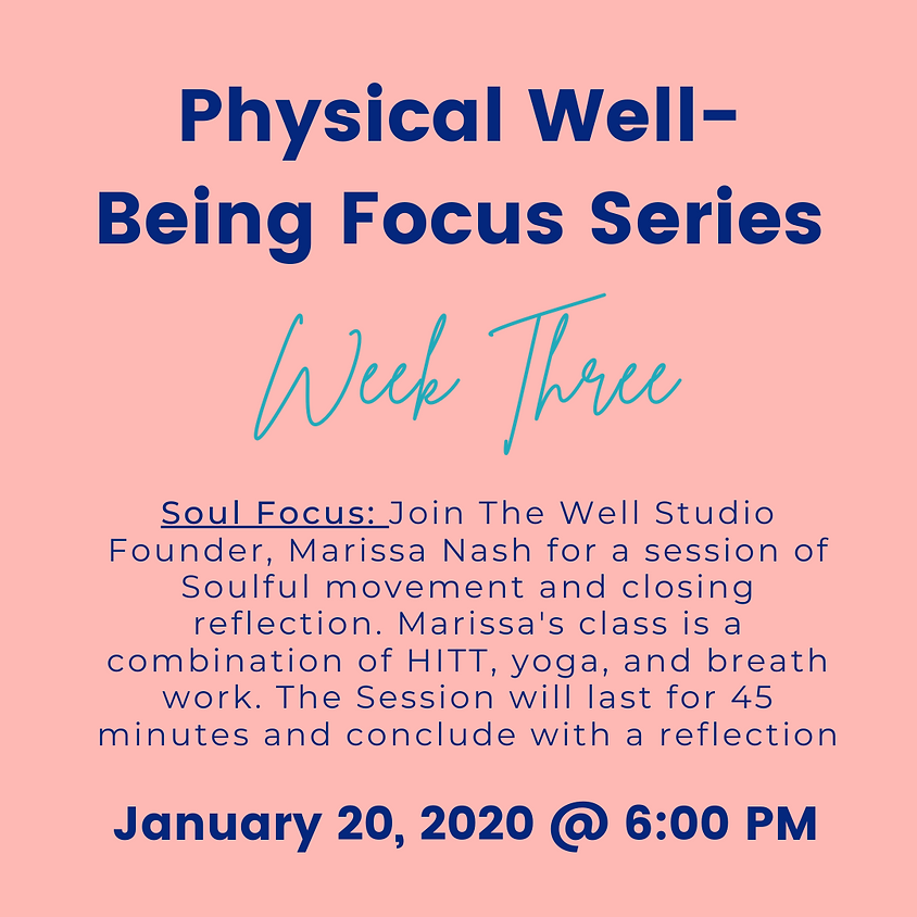 Nourish Your Soul: Physical Well-Being Workshop
