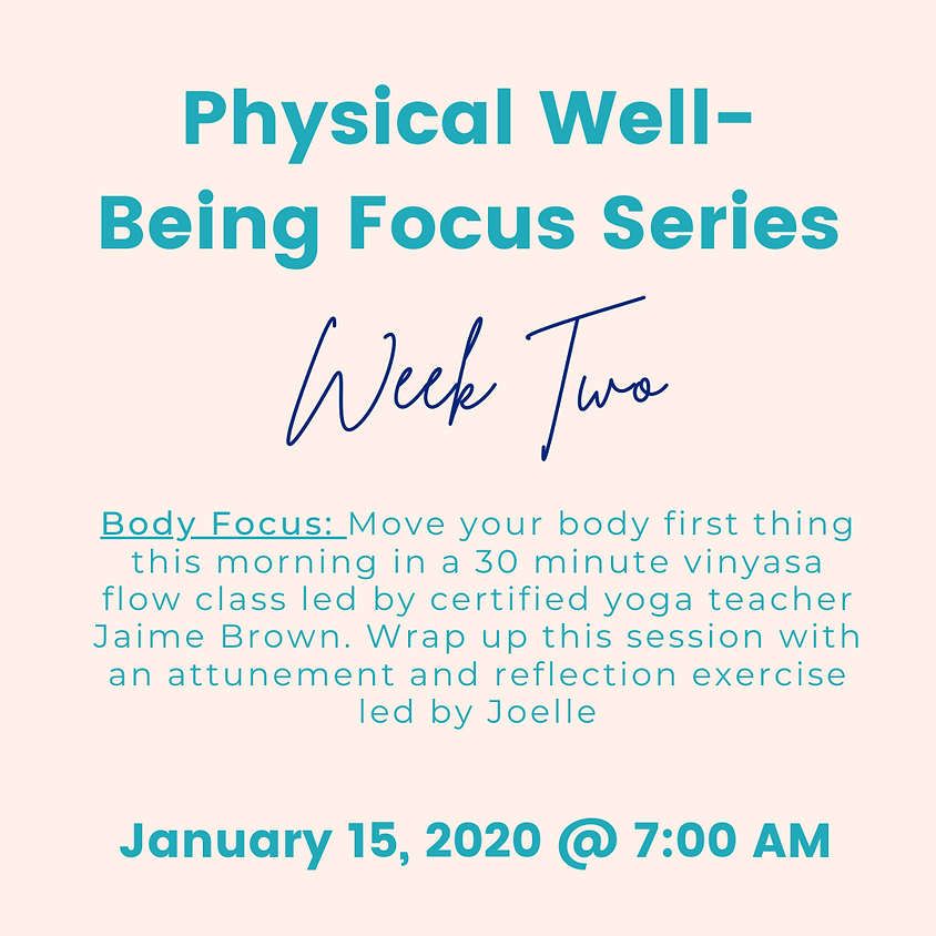 Nourish Your Body: Physical Well-Being Workshop