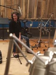 Recording at Black water studio, Smith Mountain Lake Virginia
