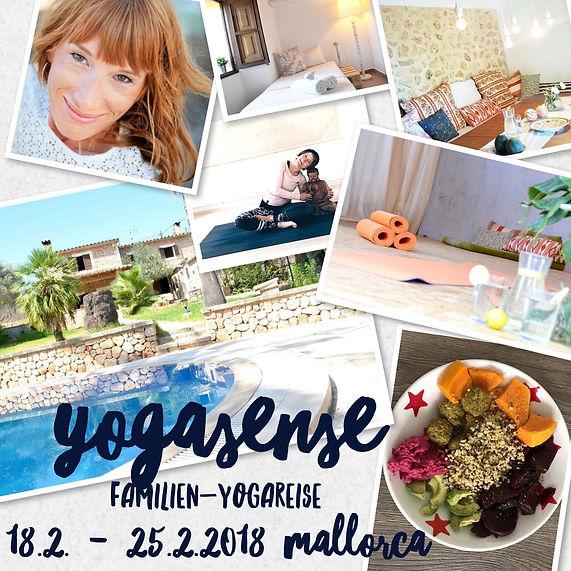 Yoga Familien Reise Mallorca 2018 - Yoga Retreat für Familien und Mutter Kind Yoga