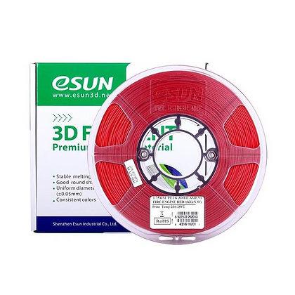 גליל פילמנט איכותי מתוצרת Esun מסוג ABS+ בצבע אדום אש