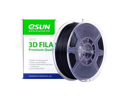 גליל פילמנט איכותי מתוצרת eSun מסוג ABS Max בצבע שחור
