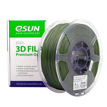 גליל פילמנט איכותי מתוצרת Esun מסוג PLA+ בצבע ירוק זית
