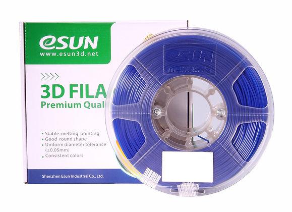 גליל פילמנט איכותי מתוצרת eSUN מסוג eLastic בצבע כחול