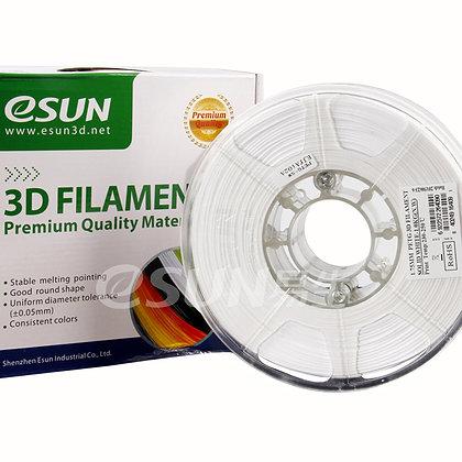 גליל פילמנט איכותי מתוצרת Esun מסוג PETG בצבע לבן