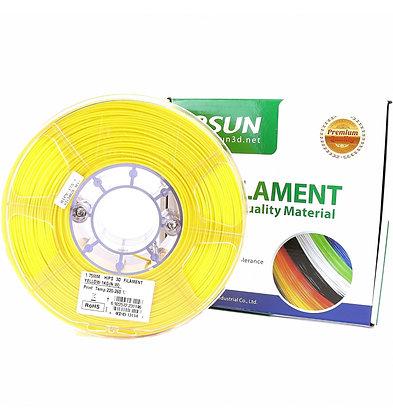 גליל פילמנט איכותי מתוצרת eSun מסוג HIPS בצבע צהוב