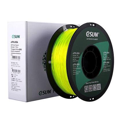 גליל פילמנט איכותי מתוצרת eSUN מסוג eTPU-95A בצבע צהוב