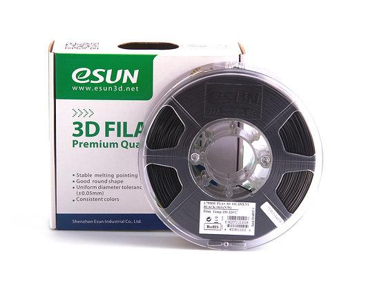 גליל פילמנט איכותי מתוצרת Esun מסוג PLA+ בצבע שחור