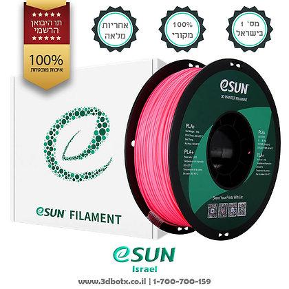 גליל פילמנט איכותי מתוצרת Esun מסוג PLA+ בצבע ורוד