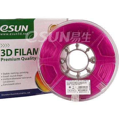 גליל פילמנט איכותי מתוצרת Esun מסוג PLA בצבע סגול שקוף