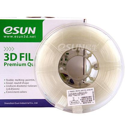 גליל פילמנט איכותי מתוצרת Esun מסוג PETG בצבע טבעי