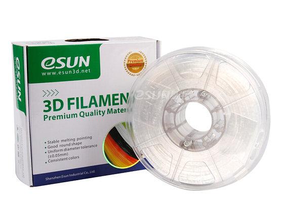 גליל פילמנט איכותי מתוצרת eSun מסוג ePC פוליקרבונט בצבע שקוף