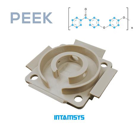 גליל פילמנט איכותי מסוג Peek מתוצרת INTAMSYS
