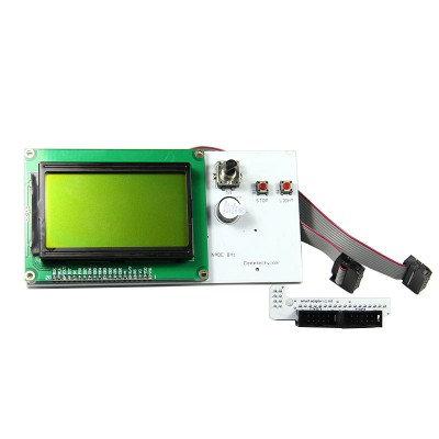 בקר תצוגה מדגם LCD12864 rectangle