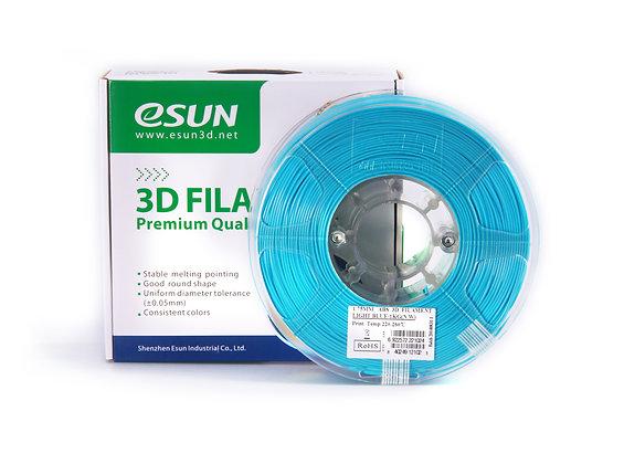 גליל פילמנט איכותי מתוצרת Esun מסוג ABS+ בצבע תכלת