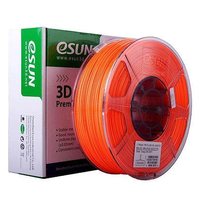 גליל פילמנט איכותי מתוצרת Esun מסוג PETG בצבע כתום