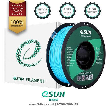 גליל פילמנט איכותי מתוצרת Esun מסוג PLA+ בצבע תכלת