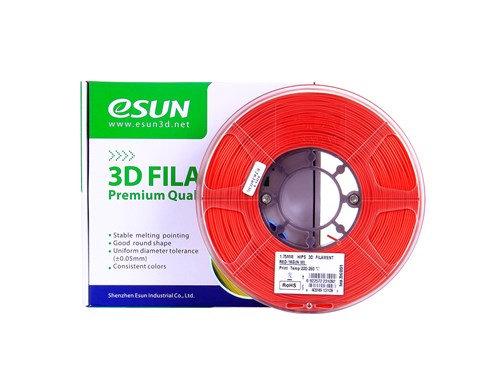 גליל פילמנט איכותי מתוצרת eSun מסוג HIPS בצבע אדום