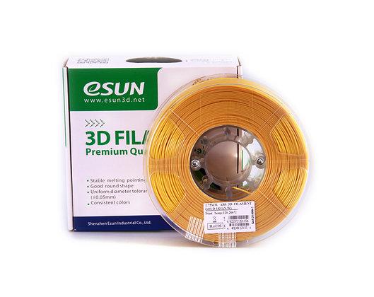 גליל פילמנט איכותי מתוצרת Esun מסוג ABS בצבע זהב