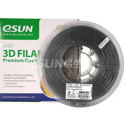 גליל פילמנט איכותי מתוצרת Esun מסוג eAlfill במילוי אלומיניום