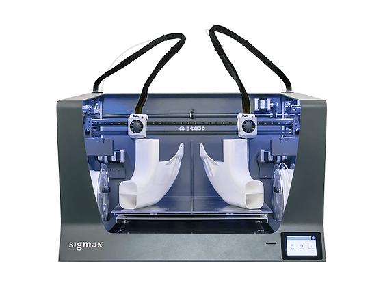 מדפסת תלת מימד מדגם BCN3D Sigmax R19