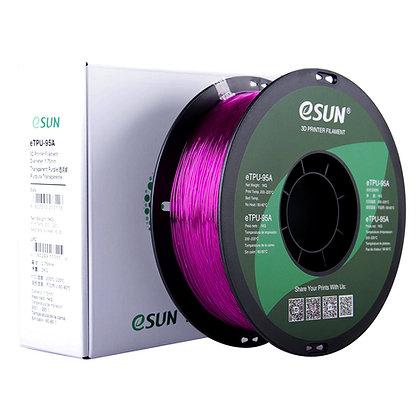 גליל פילמנט איכותי מתוצרת eSUN מסוג eTPU-95A בצבע סגול