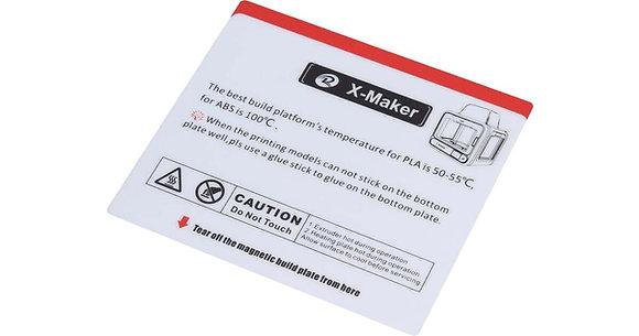 משטח הדפסה מגנטי מקורי נשלף למדפסת X-MAKER