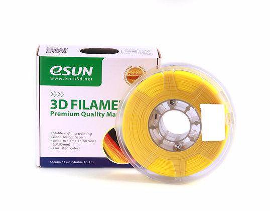 גליל פילמנט איכותי מתוצרת eSUN מסוג eLastic בצבע צהוב