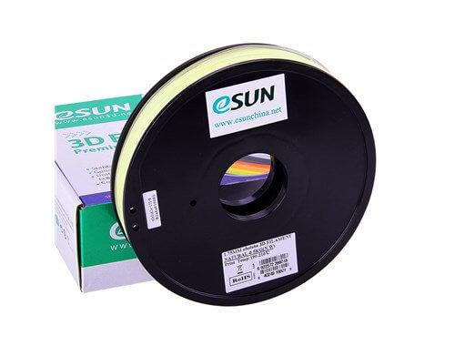 גליל פילמנט איכותי מתוצרת Esun מסוג +ePVA  בצבע טבעי