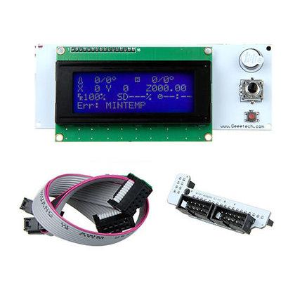 בקר תצוגה מדגם Reprap LCD2004A