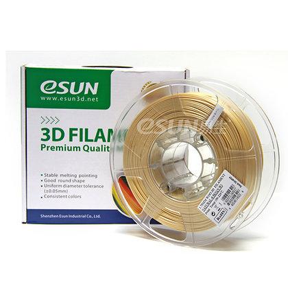 גליל פילמנט איכותי מתוצרת Esun מסוג eWood במילוי עץ