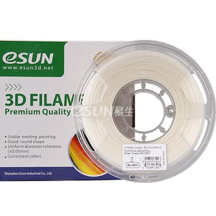גליל פילמנט איכותי מתוצרת eSUN מסוג eLastic בצבע טבעי