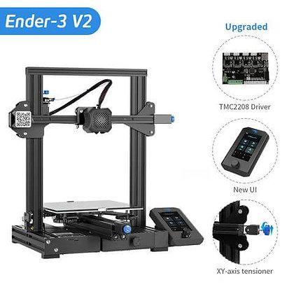 מדפסת תלת מימד מדגם Creality Ender 3 V2