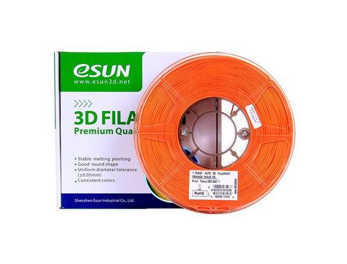גליל פילמנט איכותי מתוצרת eSun מסוג HIPS בצבע כתום