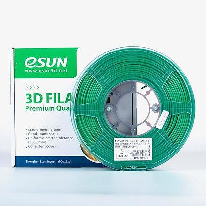 גליל פילמנט איכותי מתוצרת Esun מסוג PETG בצבע ירוק