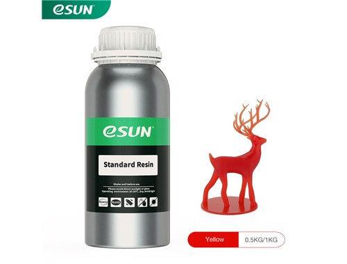 בקבוק שרף איכותי בצבע אדום מתוצרת eSUN למדפסות DLP/SLA